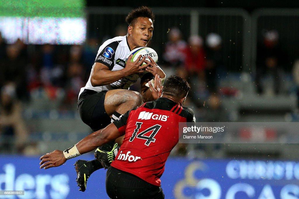 Super Rugby Rd 8 - Crusaders v Sunwolves : News Photo
