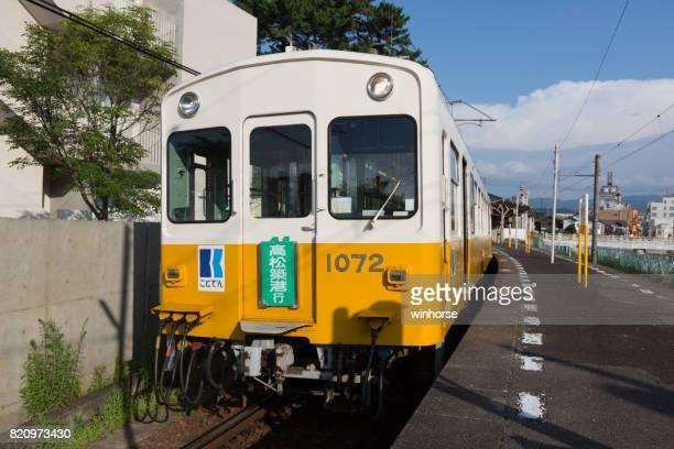 でん琴平線琴平、香川県、愛媛県 - kagawa ストックフォトと画像