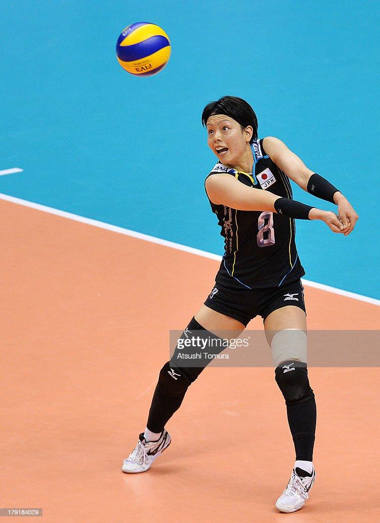 USA v Japan - FIVB World Grand Prix Sapporo 2013 Day 5 : News Photo