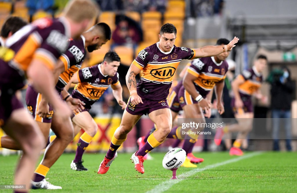 NRL Rd 11 - Broncos v Storm : News Photo