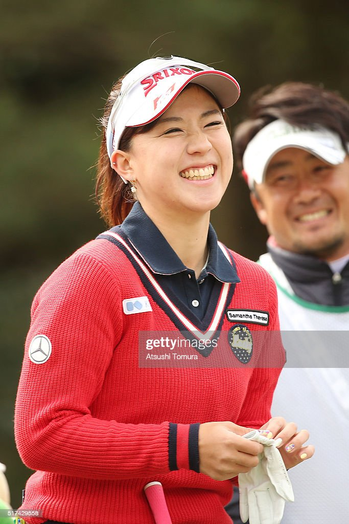 AXA Ladies Golf Tournament In Miyazaki - Day 1 : News Photo