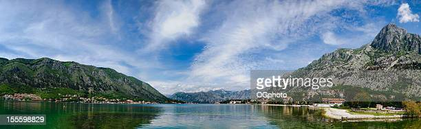 kotor bay, montenegro - ogphoto stock pictures, royalty-free photos & images