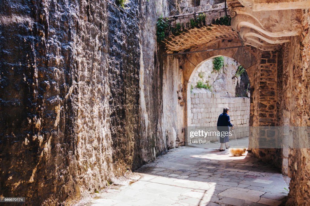 Kotor Gurdic Gate : Stock Photo