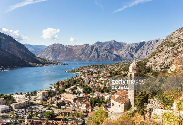 kotor old town in montenegro - montenegro stock pictures, royalty-free photos & images