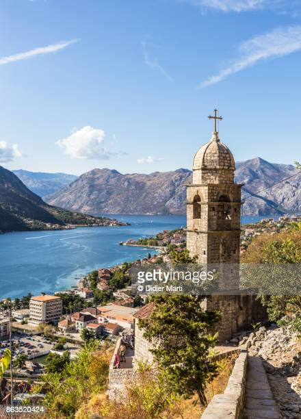 Kotor old town in Montenegro