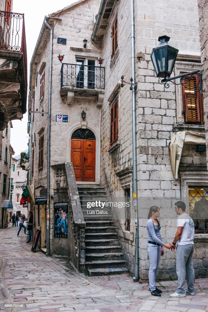 Kotor old town : Stock Photo