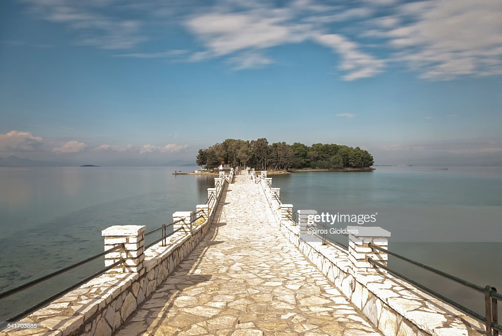 Koukoumitsa Island : Stock Photo