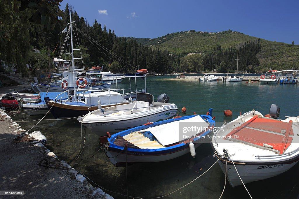 Kouloura resort, Corfu Island : Foto de stock