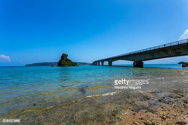 Kouri Bridge, Okinawa, from Yagaji Island