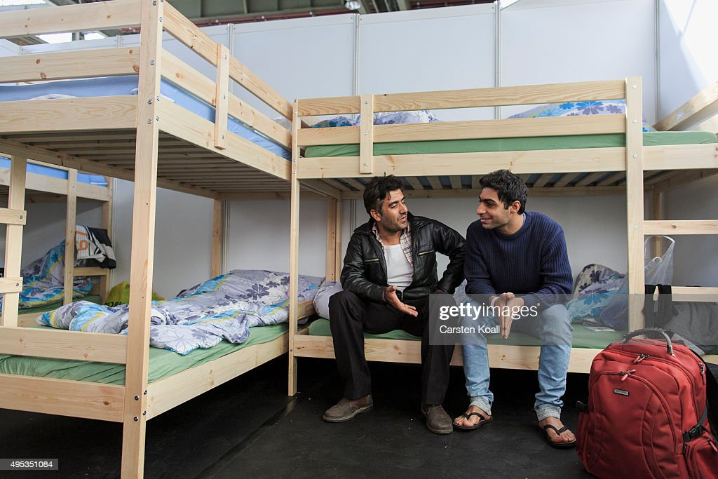 Tempelhof Airport Expands Its Migrants Shelter : News Photo