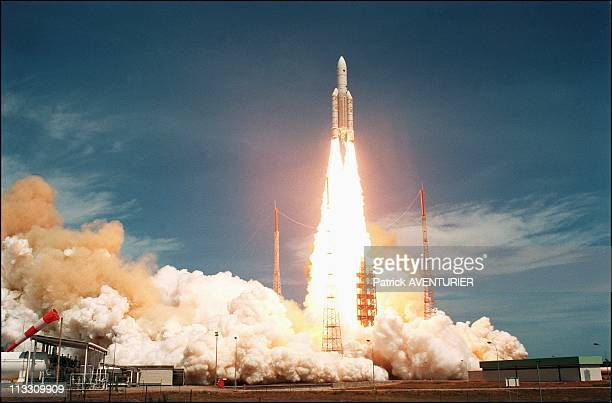 Kourou Launching Of Ariane V On October 30th 1997 In KourouFrance