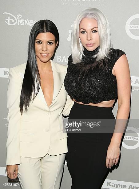 Kourtney Kardashian and Joyce Bonelli attend the 2015 Baby2Baby Gala presented by MarulaOil Kayne Capital Advisors Foundation honoring Kerry...