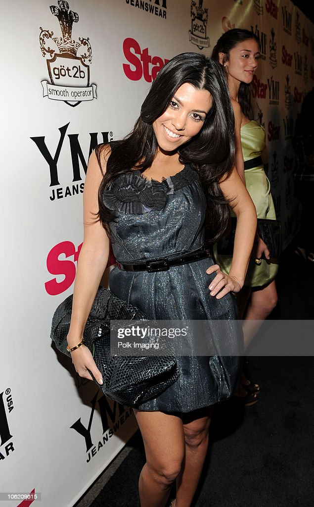 Kourtney Kardashian arrives to the Star Magazine Celebration of the Young Hollywood Issue at Apple Lounge in West Hollywood, CA on March 11, 2009.