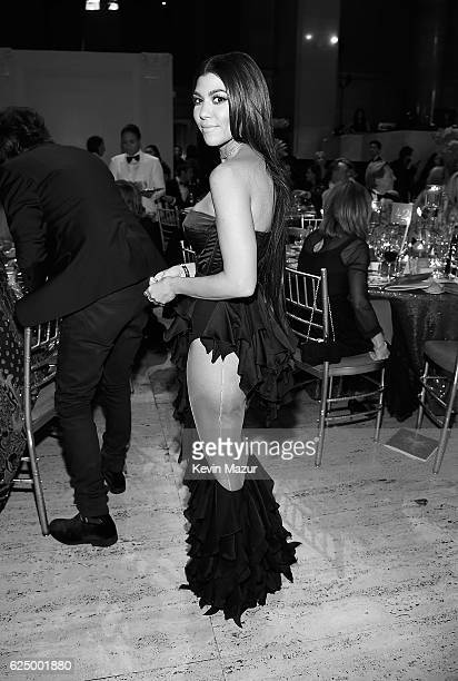 Kourtney Kardashian attends 2016 Angel Ball hosted by Gabrielle's Angel Foundation For Cancer Research on November 21 2016 in New York City