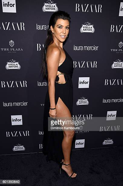 Kourtney Kardashian attends Harper's Bazaar's celebration of 'ICONS By Carine Roitfeld' presented by Infor Laura Mercier and Stella Artois at The...