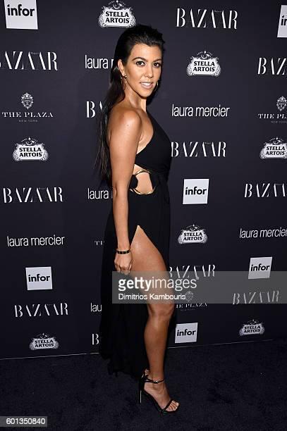 Kourtney Kardashian attends Harper's Bazaar's celebration of 'ICONS By Carine Roitfeld' presented by Infor Laura Mercier and Stella Artois at The...