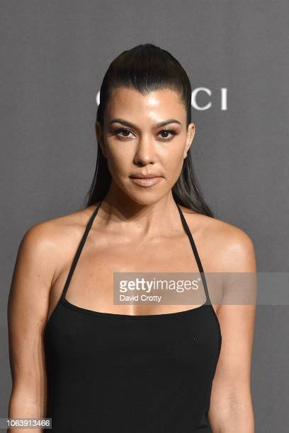 Kourtney Kardashian attends LACMA Art Film Gala 2018 at Los Angeles County Museum of Art on November 3 2018 in Los Angeles CA