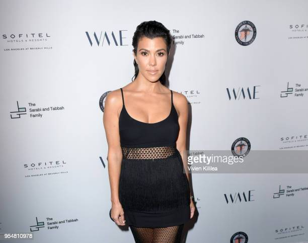 Kourtney Kardashian attends SAMS Benefit for Syrian Refugees on May 4 2018 in Beverly Hills California Photo by Vivien Killilea/Getty Images for The...
