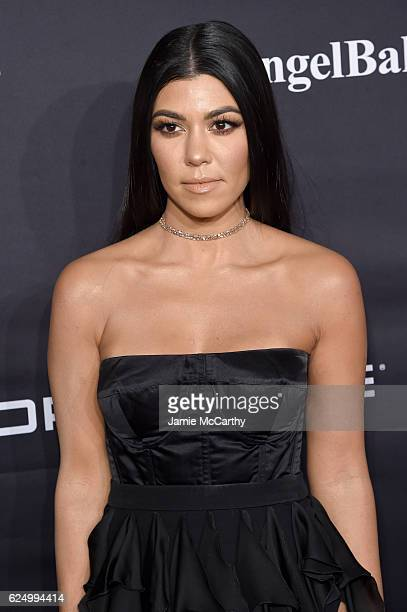 Kourtney Kardashian attends the 2016 Angel Ball hosted by Gabrielle's Angel Foundation For Cancer Research on November 21 2016 in New York City