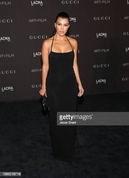 Kourtney Kardashian attends the 2018 LACMA Art Film Gala at LACMA on November 03 2018 in Los Angeles California