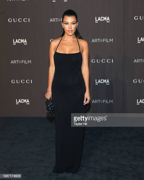 Kourtney Kardashian attends the 2018 LACMA ArtFilm Gala at LACMA on November 3 2018 in Los Angeles California