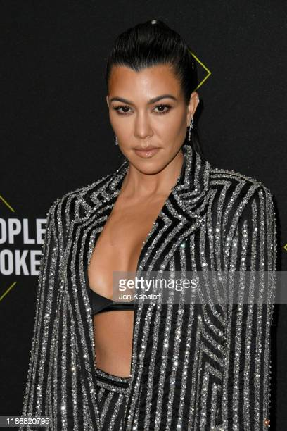 Kourtney Kardashian attends the 2019 E People's Choice Awards at Barker Hangar on November 10 2019 in Santa Monica California
