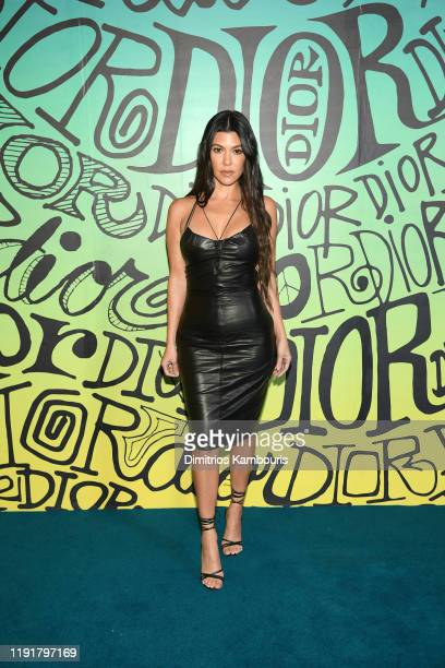 Kourtney Kardashian attends the Dior Men's Fall 2020 Runway Show on December 03 2019 in Miami Florida