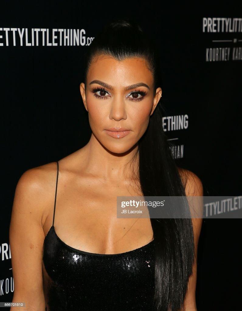 PrettyLittleThing By Kourtney Kardashian Launch - Arrivals : ニュース写真