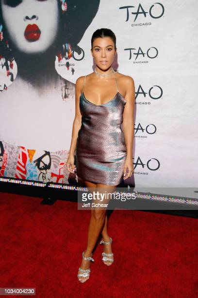 Kourtney Kardashian attends the TAO Chicago Grand Opening Celebration at TAO Chicago on September 15 2018 in Chicago Illinois
