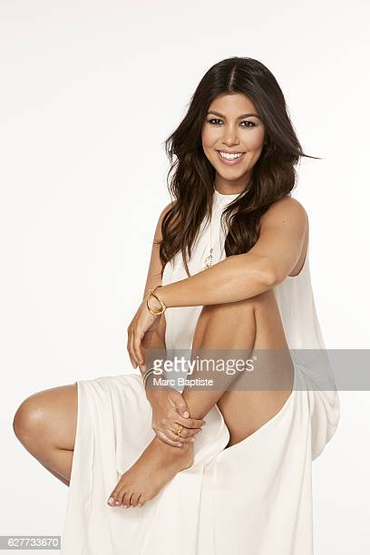 Kourtney Kardashian COVER photographed on June 17 2014 Hair Scott Cunha Makeup Joyce Bonelli Dress by Tangerine NYC Cuff by Syd and Pia NYC