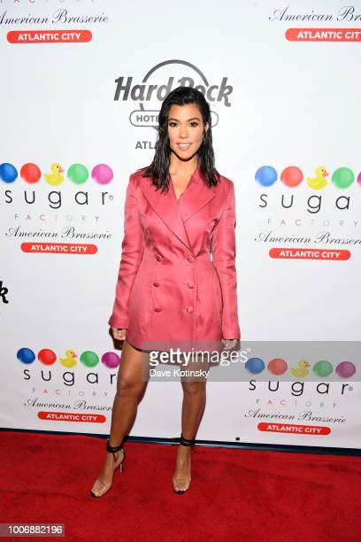 Kourtney Kardashian Hosts The Grand Opening Of Sugar Factory At Hard Rock Hotel Casino Atlantic City at Sugar Factory at the Hard Rock Hotel Casino...