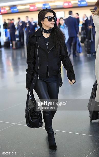 Kourtney Kardashian is seen on April 11 2016 in New York City