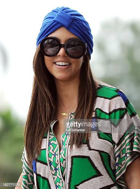 Kourtney Kardashian is sighted on September 25 2012 in Miami Florida