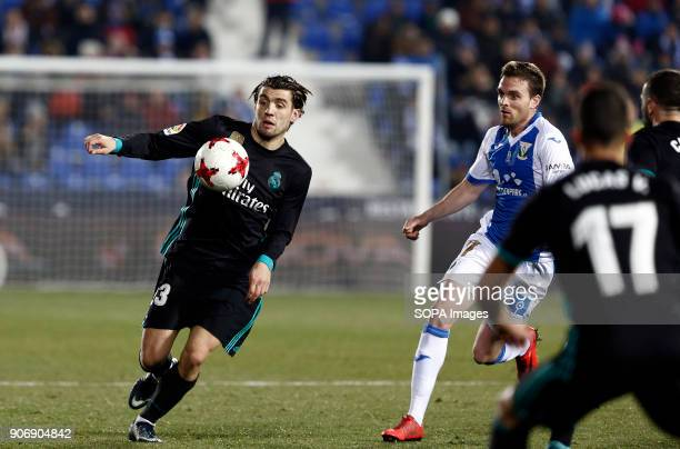 STADIUM LEGANéS MADRID SPAIN Kovacic in action during the match Jan 2018 Leganés CD and Real Madrid CF at Butarque Stadium Copa del Rey Quarter Final...