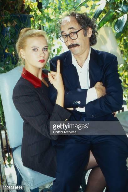Kowalsky, aka Moritz Kowalsky, Fernsehserie, Deutschland/Österreich 1993 - 1997, Darsteller: Veronica Ferres, Towje Kleiner