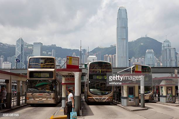 kowloon motor bus in hong kong - china motor bus 個照片及圖片檔