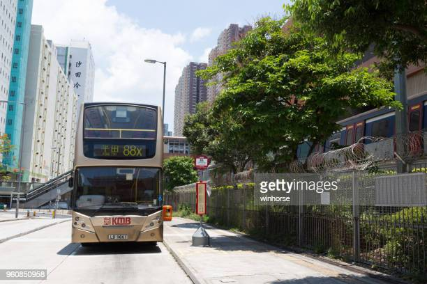 九龍汽車在香港 - china motor bus 個照片及圖片檔