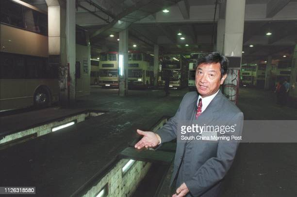 Kowloon Motor Bus operations director Lui Pochiu in Lai Chi Kok bus depot to be demolished this year