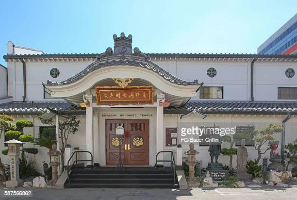 Koyasan Buddhist Temple on August 08 2016 in Los Angeles California