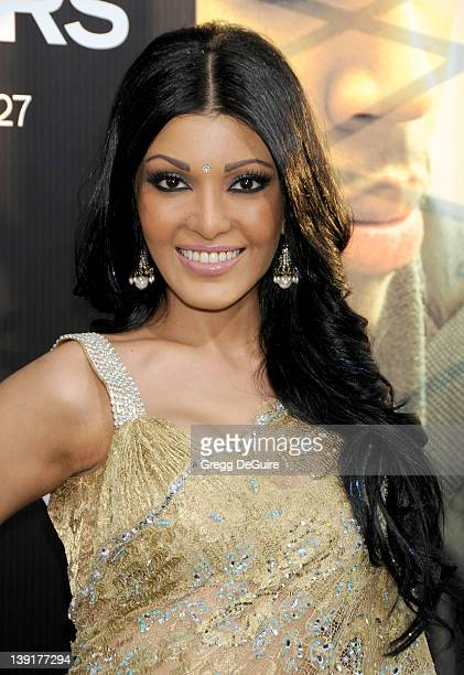 Koyna arrives at the World Premiere of Takers at the ArcLight Cinerama Dome on August 4 2010 in Hollywood California
