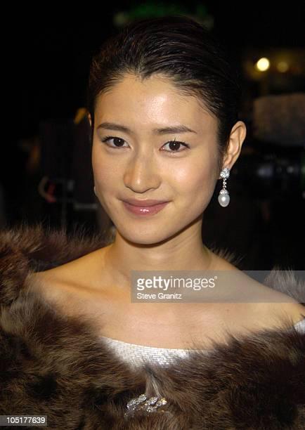 "Koyuki during ""The Last Samurai"" Los Angeles Premiere at Mann Village Theatre in Westwood, California, United States."
