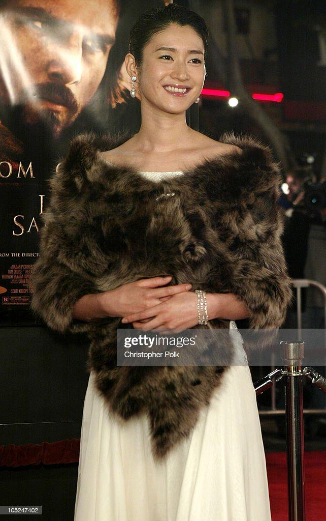 """The Last Samurai"" - Los Angeles Premiere : News Photo"