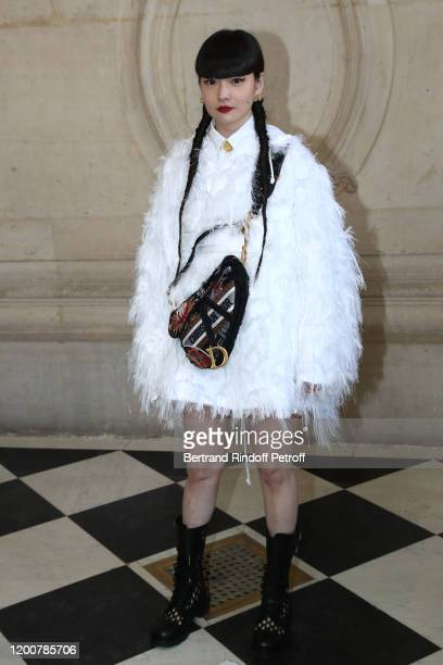 Kozue Akimoto attends the Dior Haute Couture Spring/Summer 2020 show as part of Paris Fashion Week on January 20, 2020 in Paris, France.