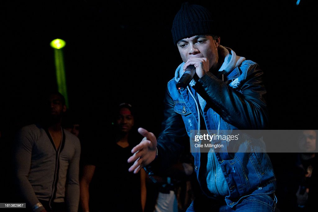 Kozzie performs on stage at 'The Eskimo Dance' at 02 Academy on February 9, 2013 in Leicester, England.