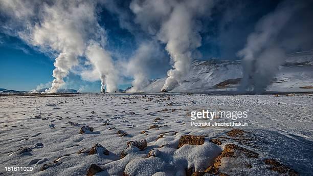 Krafla: Geothermal area