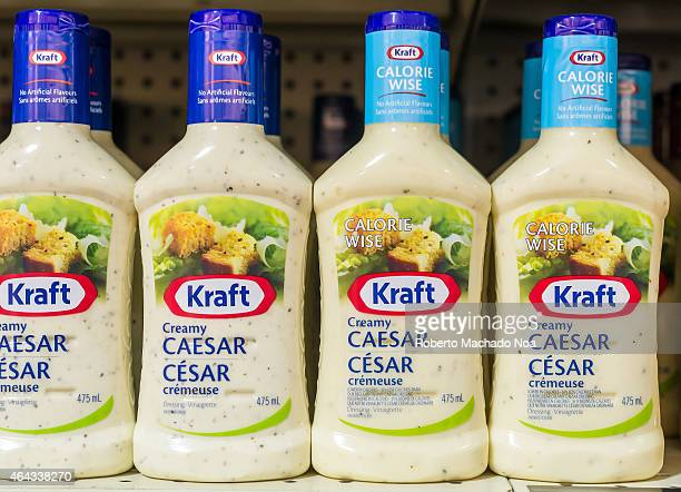 Kraft Ceasar Salad dressing in shelves Kraft Foods Group Inc is an American grocery manufacturing and processing conglomerate headquartered in the...