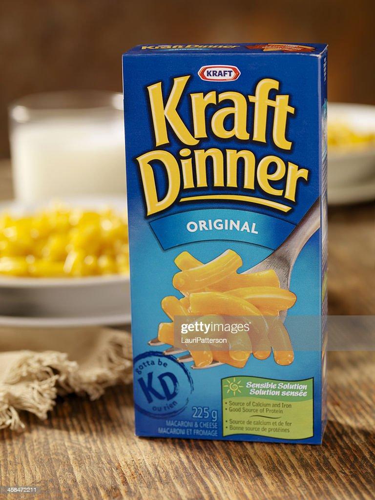 Kraft Dinner : Stock Photo