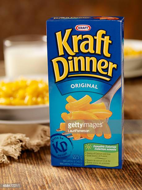 kraft dinner - kraft foods stock photos and pictures