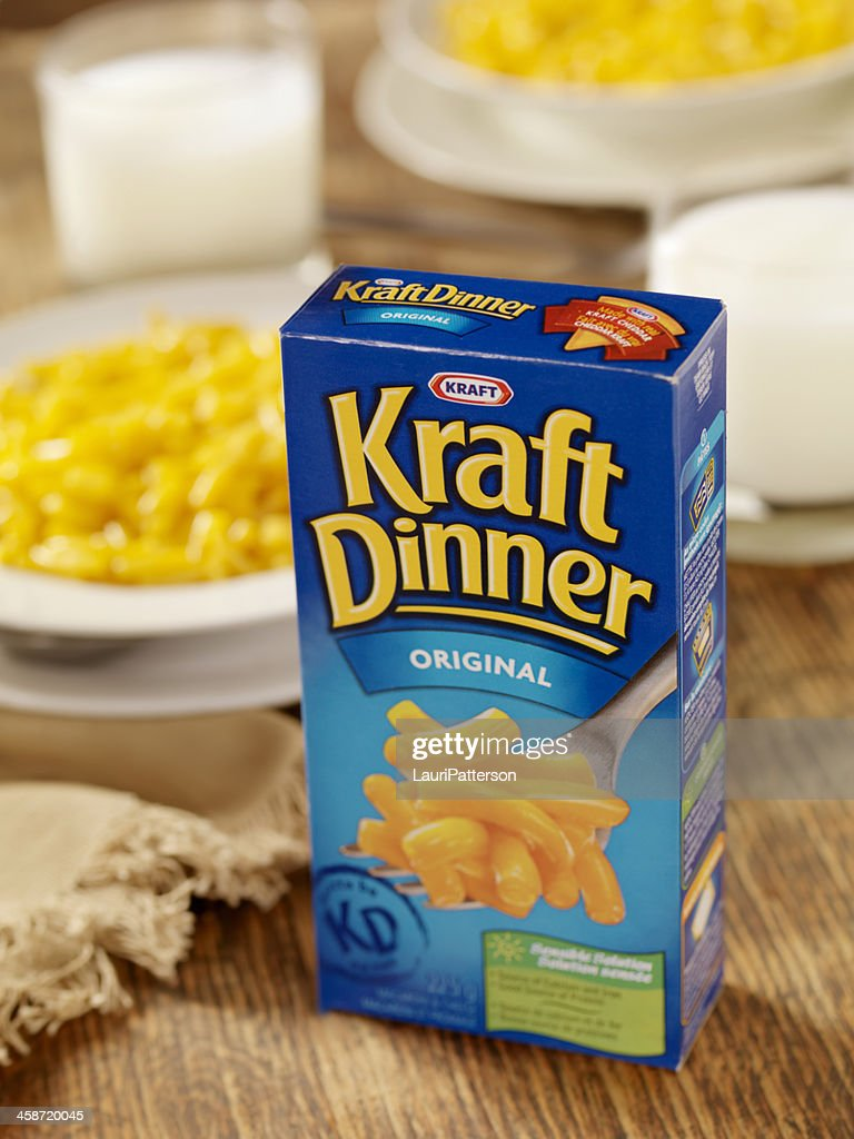 Kraft Dinner : Stock Photo