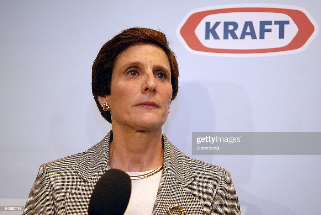 Kraft Foods Inc. Chief Executive Officer Irene Rosenfeld spe : News Photo